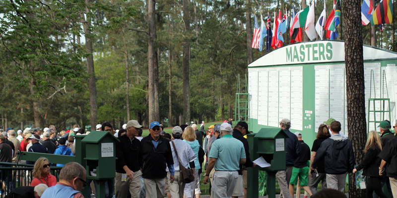 The Masters in Augusta