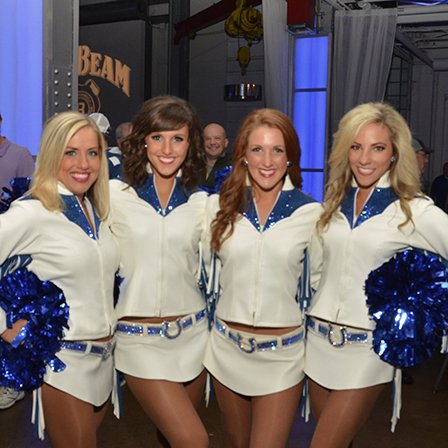 Indy Colts Cheerleaders