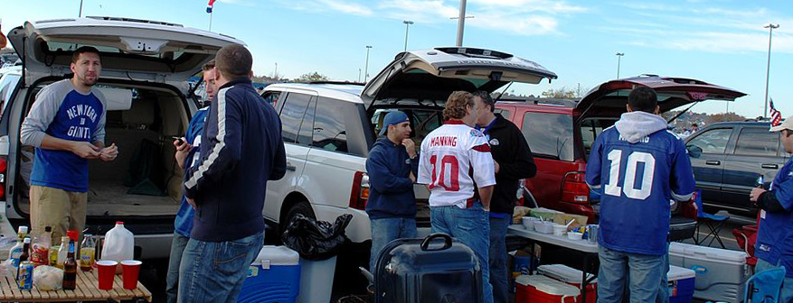 At a Tailgate