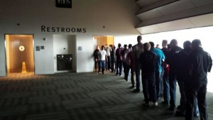 bathroom line