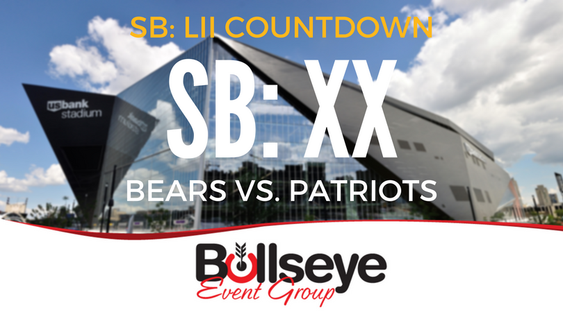 2018 Super Bowl 52 Countdown